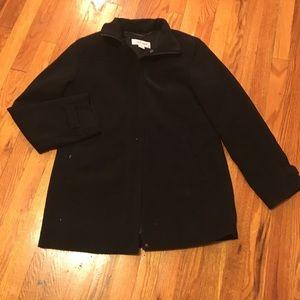 Black Calvin Klein Coat